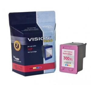 HP 300XL, color 21ml, Vision Tech kompatibilné