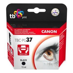 Canon PG-37 black 12ml, TB renovovaná