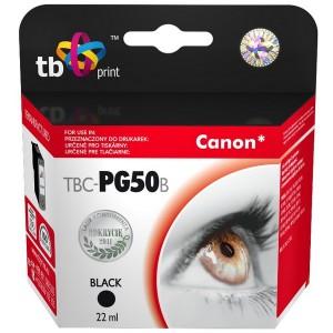 Canon PG-50 black 22ml, TB kompatibil