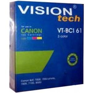 Canon BCI-61 3-color 66ml, Vision Tech kompatibil