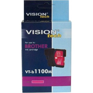 Brother LC-1100M XL magenta 20ml, Vision Tech