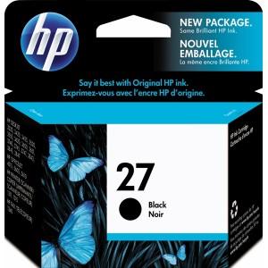Atramentová náplň HP 27, black C8727AE