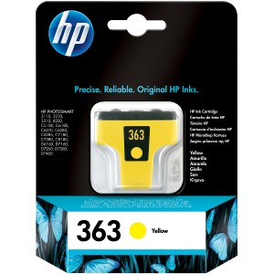 Atramentová náplň HP 363, yellow C8773EE