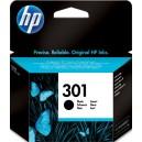 Atramentová náplň HP 301, black CH561EE