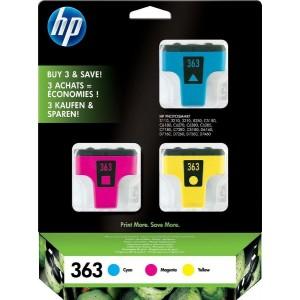 Multipack HP 363, C/M/Y CB333EE