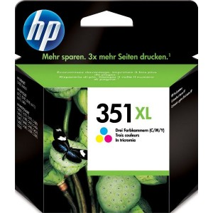 Atramentová náplň HP 351XL, color CB338EE