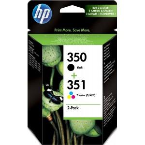 Multipack HP 350 (black) + HP 351 (color)