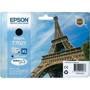 Atramentová kazeta Epson T7021, black
