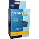 Brother LC-1280C cyan 28ml, Vision Tech