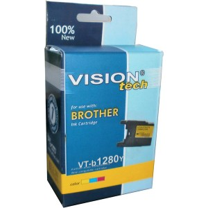 Brother LC-1280Y yellow 19ml, Vision Tech