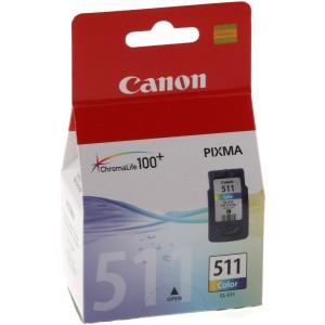 Atramentová kazeta Canon CL-511, color