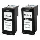 HP 350XL black, alternatívny DUOpack