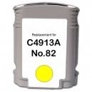 HP 82XL Y, yellow 69ml, kompatibil