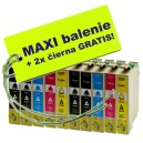 Kazety Epson T163 16XL 8ks maxi set + 2 zadarmo