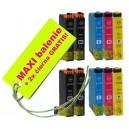 Kazety Epson T271 27XL 8ks maxi set + 2 zadarmo