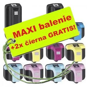 Kazety HP 363 10ks maxi set + 2 zadarmo