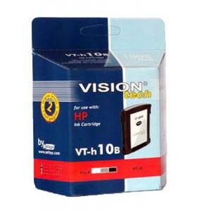 HP 10XL B, black 69ml, Vision Tech kompatibilné
