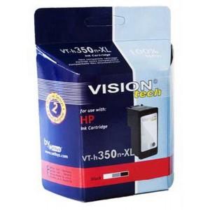 HP 350XL, black 32ml, Vision Tech kompatibilné
