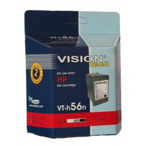 HP 56, black 22ml, Vision Tech kompatibilné