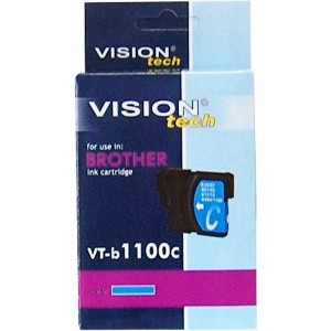 Brother LC-1100C cyan 13ml, Vision Tech