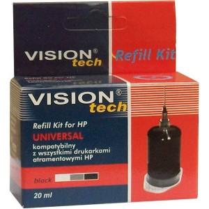RefillSet Vision HP Univerzál, 20ml black