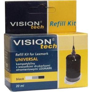 RefillSet Vision Lexmark Uni, 20ml black