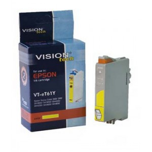 Epson T061-4 yellow 16ml, Vision kompatibil