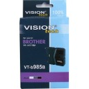 Kompatibil s Brother LC-985Bk, Vision, black 20ml