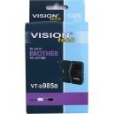 Kompatibil s Brother LC-985Bk, Vision, black 20ml