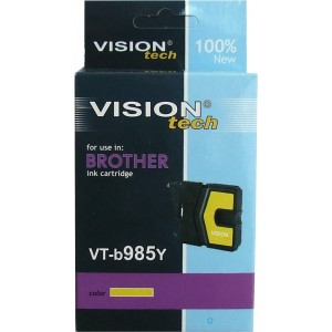Brother LC-985Y yellow 13ml, Vision Tech
