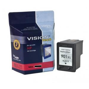 HP 901XL, black 21ml, Vision Tech kompatibilné