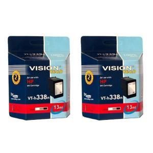 HP 338, DUOpack, Vision Tech kompatibilný