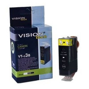 Canon BCI-3eBK black 28ml, Vision Tech kompatibil