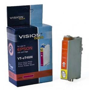 Epson T048-3 magenta 16ml, Vision kompatibil