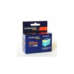 Kompatibilné s Epson S020189, Vision Tech, black, 25ml