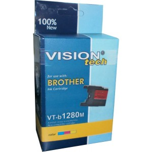 Brother LC-1280M magenta 19ml, Vision Tech