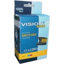 Brother LC-1280Y yellow 28ml, Vision Tech