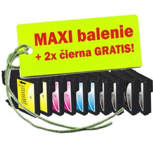 Kazety Brother LC-1100 / 980 8ks maxi set + 2 zadarmo