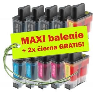 Kazety Brother LC-900 8ks maxi set + 2 zadarmo