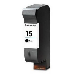 HP 15, black 30 ml kompatibilná