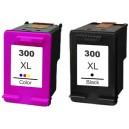 HP 300XL čierna + 300XL farebná, sada