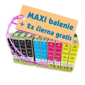 Kazety Epson T181 18XL 8ks maxi set + 2 zadarmo