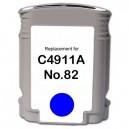 HP 82XL C, cyan 69ml, kompatibil