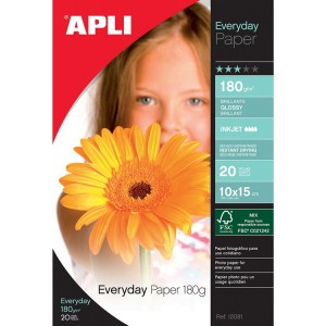 Papier APLI 12081 Glossy Everyday A6 180 g/m2, 20 ks
