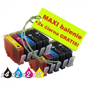 Kazety HP 364XL 8ks maxi set + 2 zadarmo