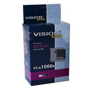 Brother LC-1000Bk black 28ml, Vision Tech