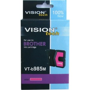 Brother LC-985M magenta 13ml, Vision Tech